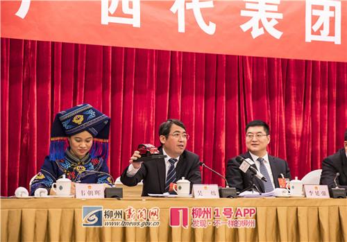 《人民日报》访全国人大代表、柳州市市长吴炜:增强实体经济的创新动力
